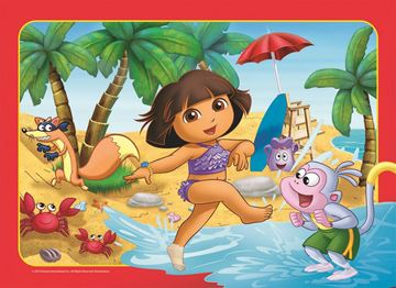 Picture of Holdson Puzzle - Set of Four Dora the Explorer 35pc Frame Tray Series