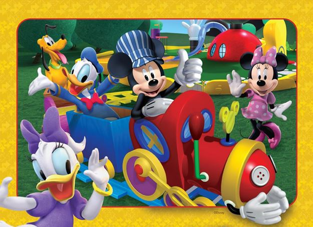 Picture of Holdson Puzzle - Set of Four Mickey Clubhouse 35pc Frame Tray Series
