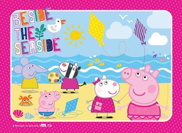 Picture of Holdson Puzzle - Peppa Pig 35pc Frame Tray Series