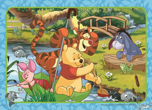 Picture of Holdson Puzzle - Winnie The Pooh 35pc Frame Tray Series