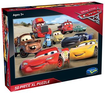 Picture of Holdson Puzzle - Cars 3 50pc XL (Speed Challenge)