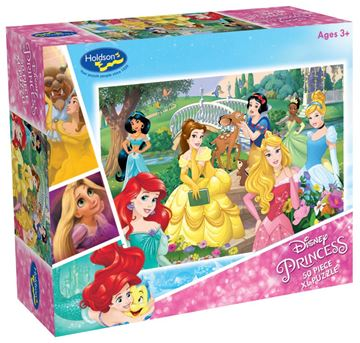 Picture of Holdson Puzzle - Disney Princess 50pc XL (Forever Princess)