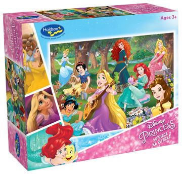 Picture of Holdson Puzzle - Disney Princess 50pc XL (Kind And True)