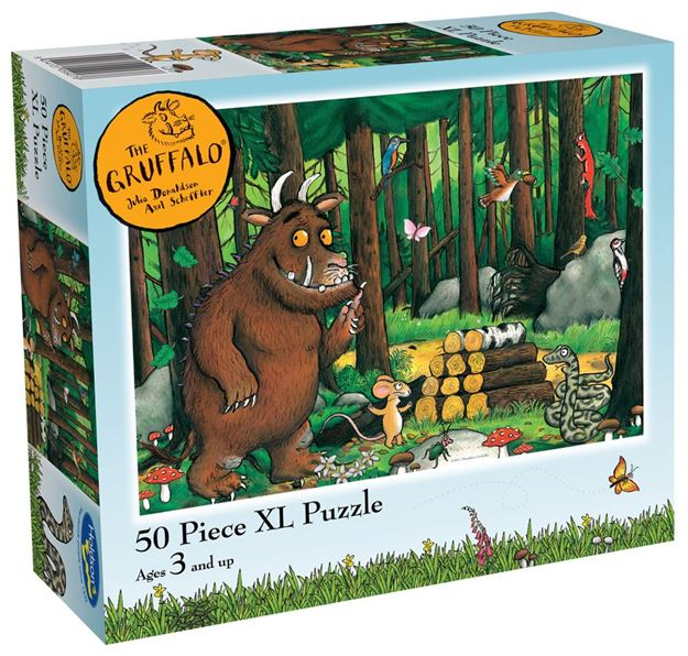 Picture of Holdson Puzzle - Gruffalo 50pc XL (Why Snake Hello)