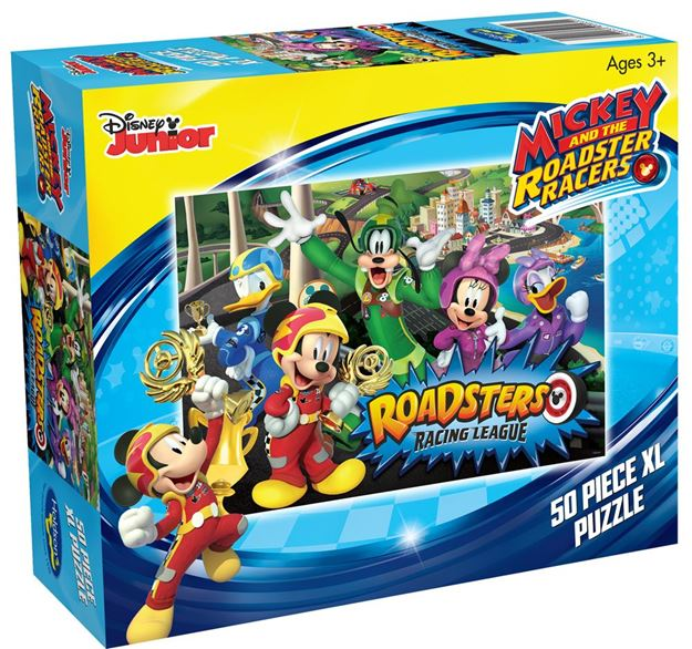 Picture of Holdson Puzzle - Mickey & the Roadster Racers 50pc XL (Roadsters Racing League)