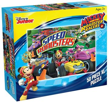 Picture of Holdson Puzzle - Mickey & the Roadster Racers 50pc XL (Speed Roadsters)