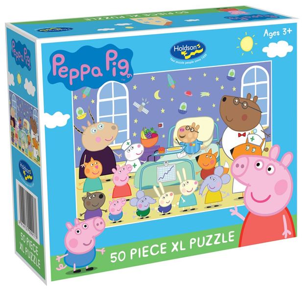 Picture of Holdson Puzzle - Peppa Pig 50pc XL (The Hospital Visit)
