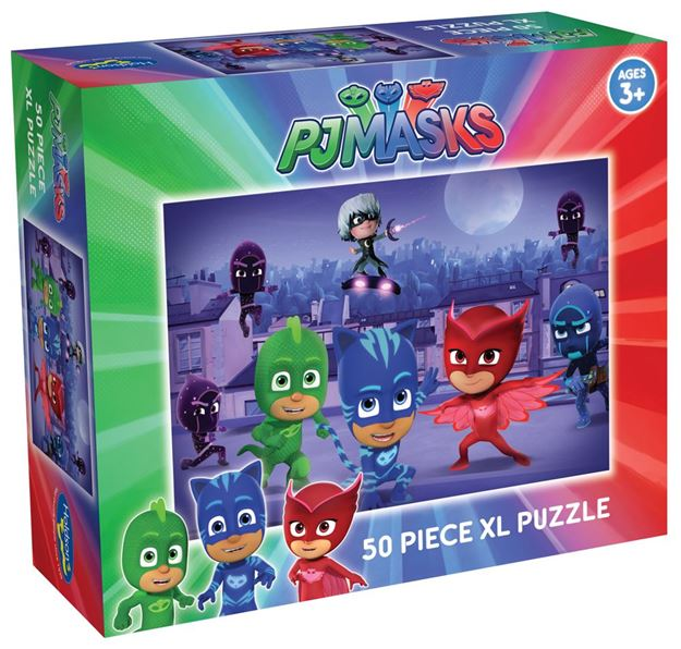 Picture of Holdson Puzzle - PJ Masks 50pc XL (Into the Night)