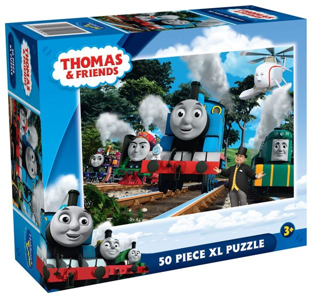 holdson puzzle thomas and friends 50pc xl the great race