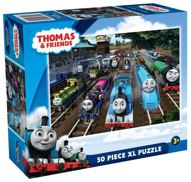 Picture of Holdson Puzzle - Thomas and Friends 50pc XL (The Great Railway Show)