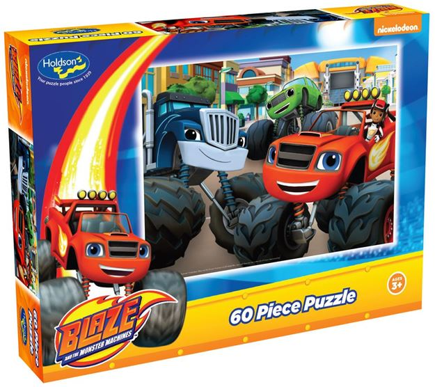 Picture of Holdson Puzzle - Blaze 60pc (Start Your Engines!)