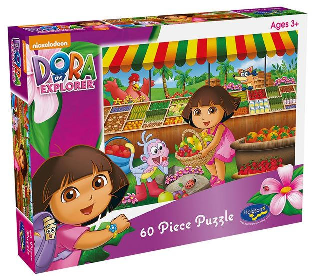 Picture of Holdson Puzzle - Dora the Explorer 60pc (Fruity Adventure)