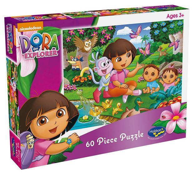 Picture of Holdson Puzzle - Dora the Explorer 60pc (Let's Explore)