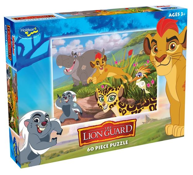 Picture of Holdson Puzzle - Lion Guard 60pc (Hukuna Matata)
