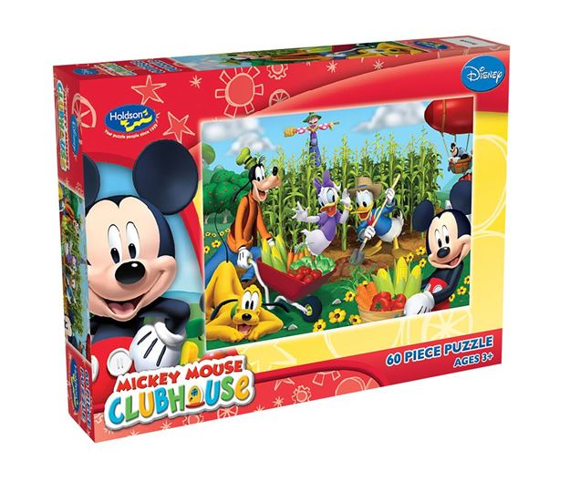 Picture of Holdson Puzzle - Mickey Clubhouse 60pc (It's Harvest Time)