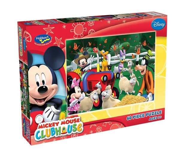Picture of Holdson Puzzle - Mickey Clubhouse 60pc (Mickey's Mouseka Tractor)