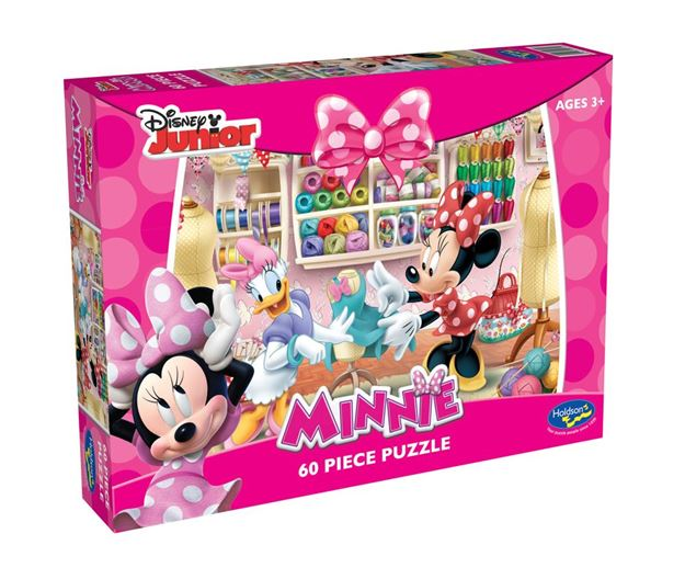Picture of Holdson Puzzle - Minnie Mouse 60pc (Made With Love)