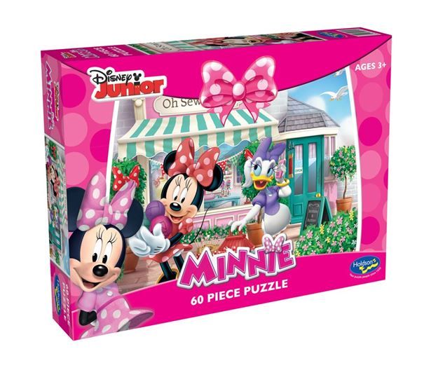 Picture of Holdson Puzzle - Minnie Mouse 60pc (Oh Sew Sweet)