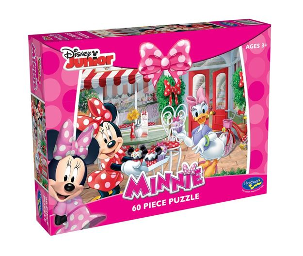 Picture of Holdson Puzzle - Minnie Mouse 60pc (Tea Time Treats)