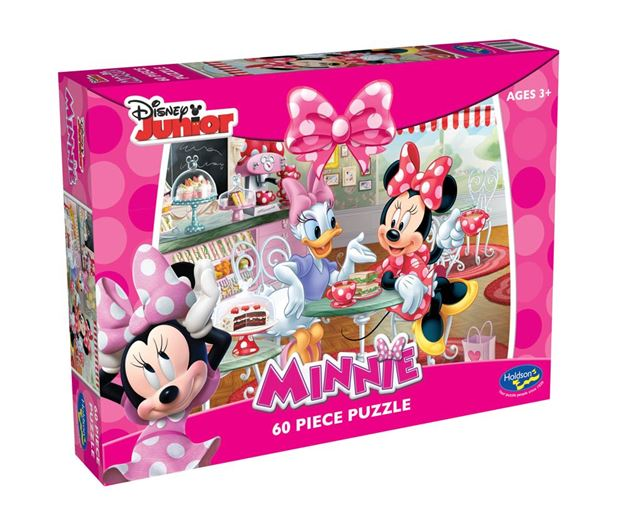 Picture of Holdson Puzzle - Minnie Mouse 60pc (Time For Tea)
