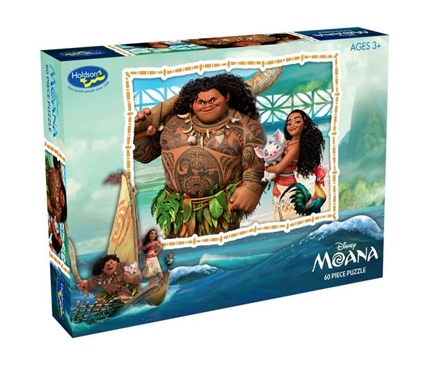 Picture of Holdson Puzzle - Moana 60pc (Maui Island Lifter)