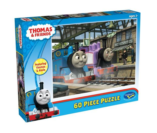 Picture of Holdson Puzzle - Thomas & Friends 60pc (Thomas & Rosie)