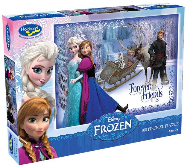 Picture of Holdson Puzzle - Frozen 100pc XL (Forever Friends)