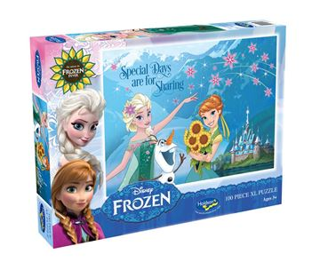 Picture of Holdson Puzzle - Frozen Fever 100pc XL (Special Days Are For Sharing)