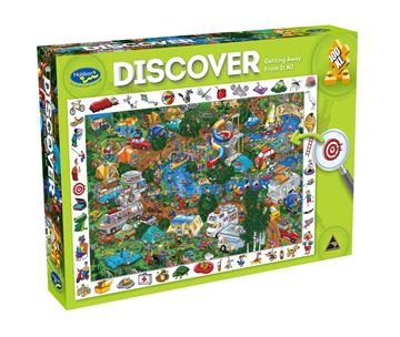 Picture of Holdson Puzzle - Discover Large 2 100pc (Getting Away From It All)