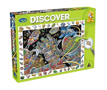 Picture of Holdson Puzzle - Discover Large 2 100pc (Space Colony)
