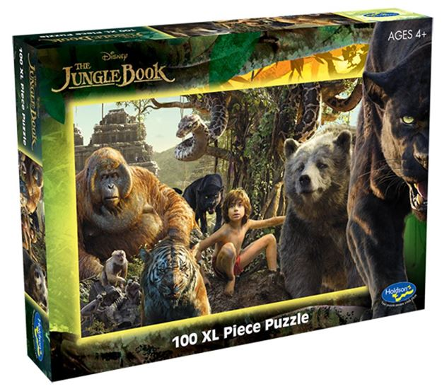 Picture of Holdson Puzzle - Jungle Book 100pc XL