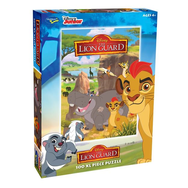Picture of Holdson Puzzle - Lion Guard 100pc XL