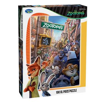 Picture of Holdson Puzzle - Zootopia 100pc XL
