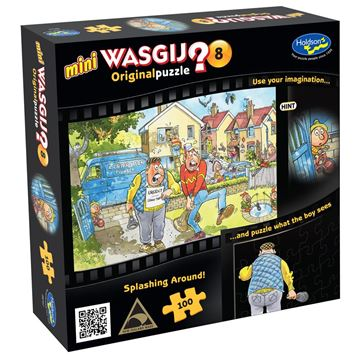 Picture of Holdson Puzzle - Wasgij Mini 8 100pc (Splashing Around!)