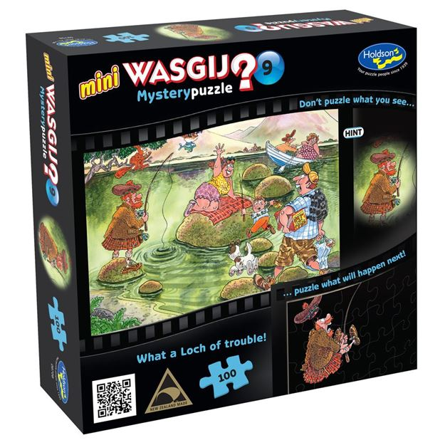 Picture of Holdson Puzzle - Wasgij Mini 9 100pc (What A Loch Of Trouble)