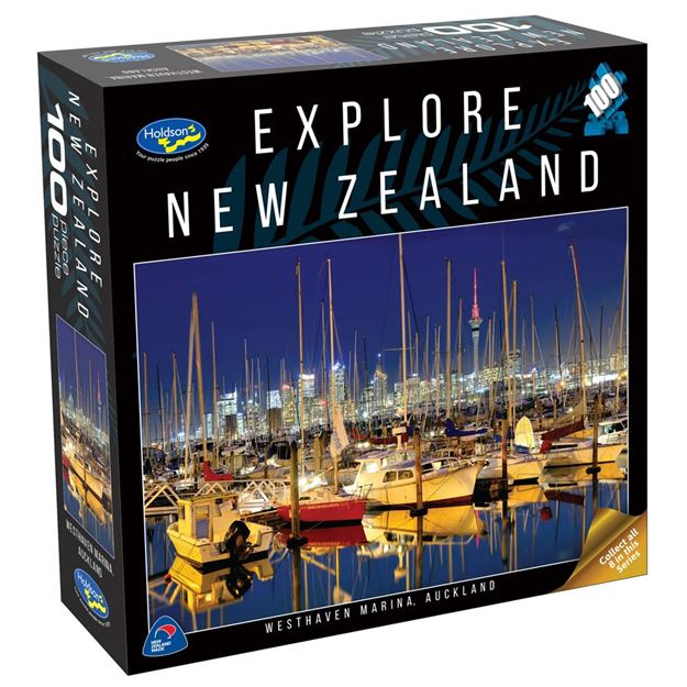 Picture of Holdson Puzzle - Explore New Zealand 100pc (Westhaven Marina, Auckland)