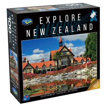 Picture of Holdson Puzzle - Explore New Zealand 100pc (Government Gardens, Rotorua)