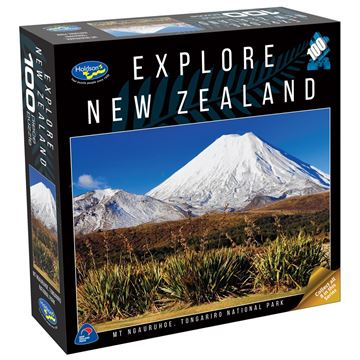 Picture of Holdson Puzzle - Explore New Zealand 100pc (Mt Ngauruhoe, Tongariro National Park)