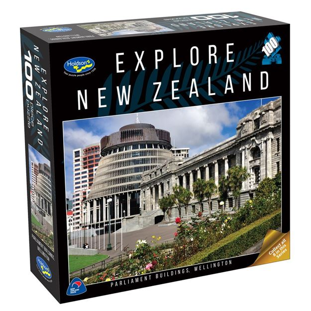 Picture of Holdson Puzzle - Explore New Zealand 100pc (Parliament Buildings, Wellington)