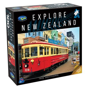 Picture of Holdson Puzzle - Explore New Zealand 100pc (Tram, Christchurch)