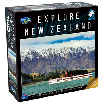 Picture of Holdson Puzzle - Explore New Zealand 100pc (SS Earnslaw, Queenstown)
