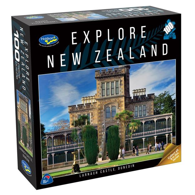 Picture of Holdson Puzzle - Explore New Zealand 100pc (Larnach Castle, Dunedin)