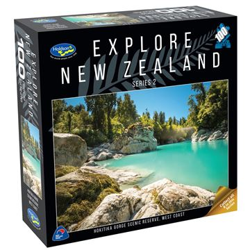 Picture of Holdson Puzzle - Explore New Zealand 2 100pc (Hokitika Gorge, West Coast)