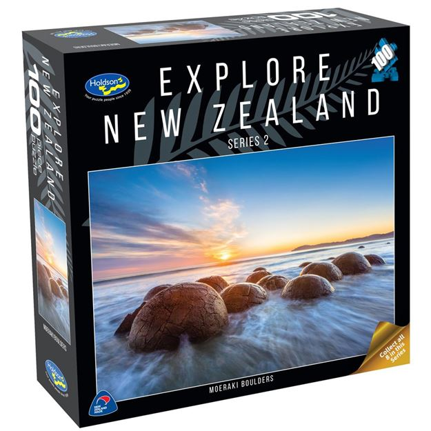 Picture of Holdson Puzzle - Explore New Zealand 2 100pc (Moeraki Boulders)