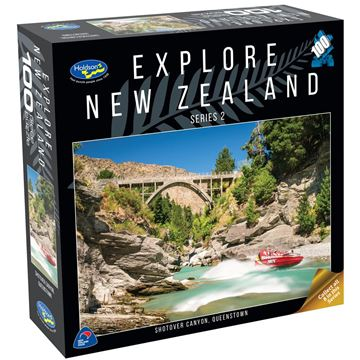 Picture of Holdson Puzzle - Explore New Zealand 2 100pc (Shotover Canyon, Queenstown)
