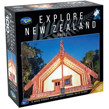 Picture of Holdson Puzzle - Explore New Zealand 2 100pc (Te Whare Runanga, Waitangi)