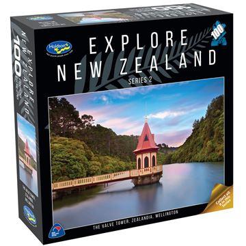 Picture of Holdson Puzzle - Explore New Zealand 2 100pc (The Valve Tower, Zealandia, Wellington)