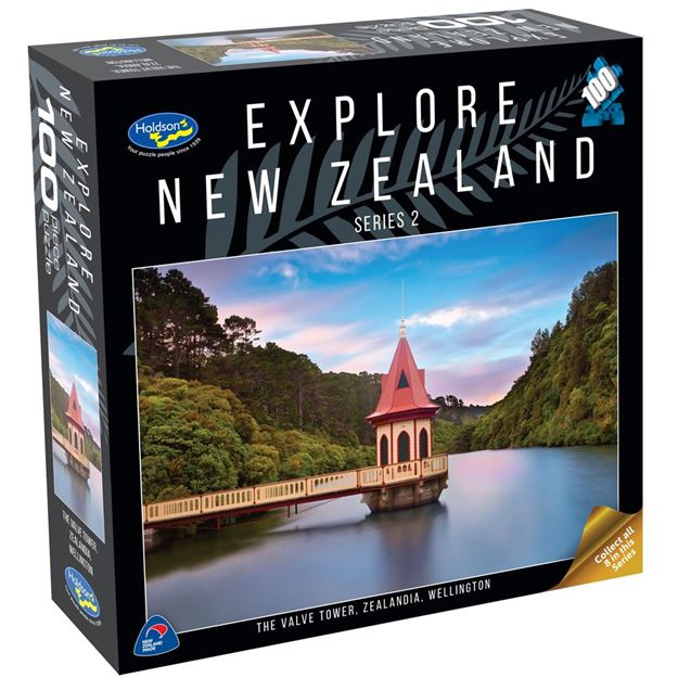 Picture of Holdson Puzzle - Explore New Zealand 2 100pc (The Valve Tower, Zealandia, Wellington)