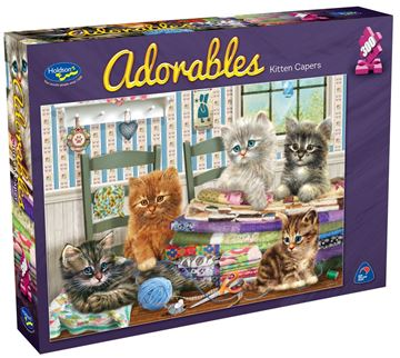 Picture of Holdson Puzzle - Adorables 300pc (Kitten Capers)