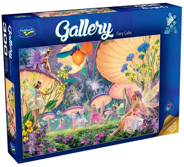 Picture of Holdson Puzzle - Gallery 3 300pc XL (Fairy Lake)